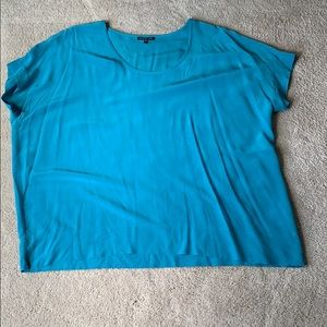 Eileen Fisher turquoise top